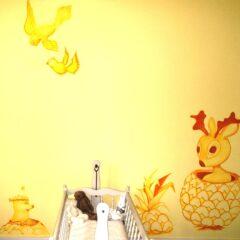 Baby Elia's room