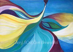 AnnerieMol, Artventures, intuitive, intuïtief, warme kleuren, warm colours, intuïtief schilderlessen, zuid-holland, waddinxveen,